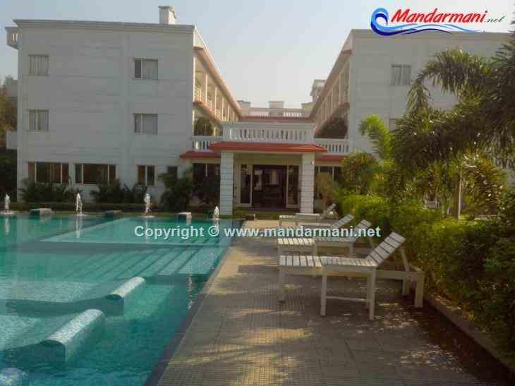 Victoria Beach Resort Swimming Pool View Mandarmani